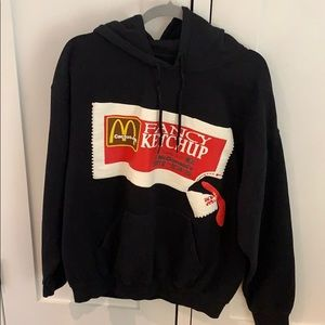 Travis Scott Fancy Ketchup McDonald's Hoodie